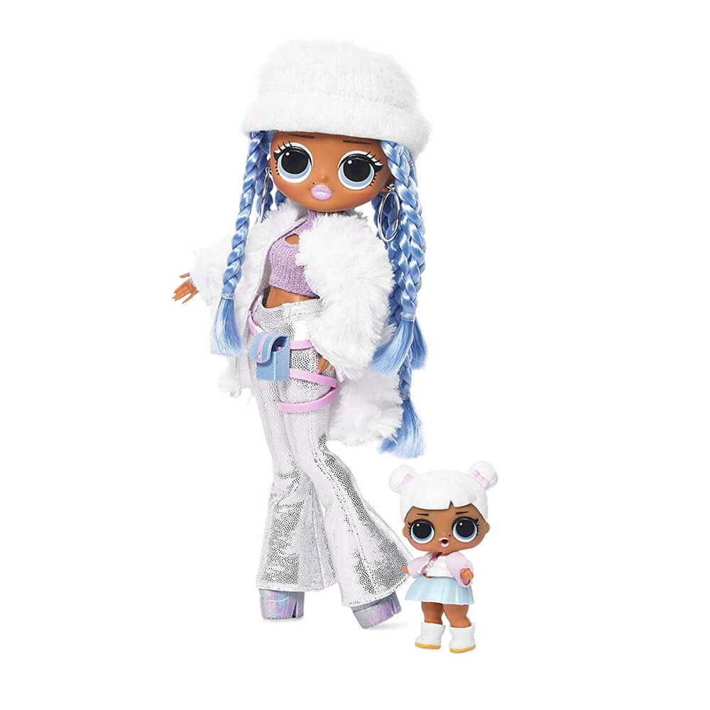 Кукла LOL Surprise OMG Winter Disco Snowlicious And Snow Angel с 25 сюрпризами - 5